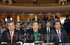 丛氏放出席议联第136届大会  并开展一系列会见活动