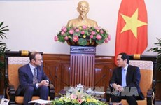 越南高度评价比利时提供援助的发展项目