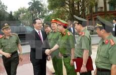 陈大光主席走访富寿省公安厅