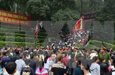 2017年越南始祖雄王祭祀活动在多地隆重举行