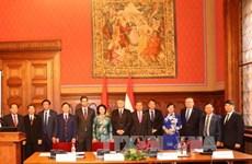 越南国会主席阮氏金银圆满结束对匈牙利的正式访问