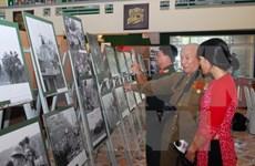 """""""历史性时刻""""摄影展在胡志明战役博物馆开展"""