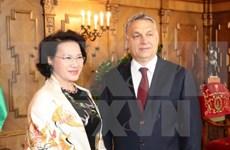 越南国会主席阮氏金银会见匈牙利总理欧尔班·维克多