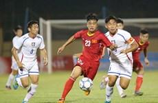 2017年第一届U19国际足球锦标赛:越南队击败(中国)台北队