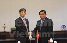 越南计划与投资部部长阮志勇对日本进行访问