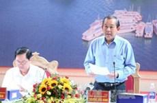 越南政府副总理张和平莅临广宁省调研