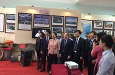 """""""黄沙、长沙归属越南—历史证据和法律依据""""地图资料展在海阳省举行"""