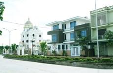 越南广宁省东朝市镇建设现代城市