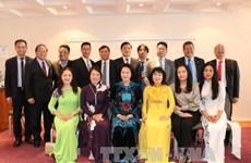 越南国会代表团访问捷克之旅圆满结束