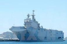 法国海军军舰访问胡志明市