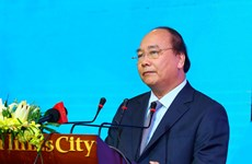 阮春福总理出席平顺省2017年投资促进会
