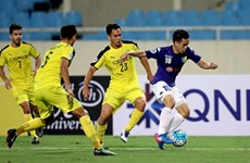 2017年亚洲足协杯:河内队2比6负于对手