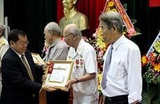 老挝授予越南志愿军勋章、徽章