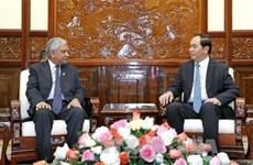 陈大光主席:越南一向主动积极参加联合国各项活动