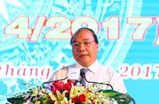 政府总理阮春福出席朔庄省重新建省25周年纪念大会