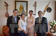 越南驻联合国代表团向老挝致以传统节日祝福