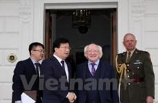 越南政府副总理郑廷勇圆满结束对爱尔兰进行的正式访问