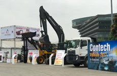 河内国际工程矿山机械展大力吸引外国投资商