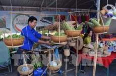 越南货展销会吸引同塔省农村居民数千人次参观购物