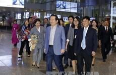 韩国国会议长丁世均开始对越南进行正式访问