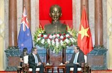 陈大光主席会见新西兰外交部长默里・麦卡利