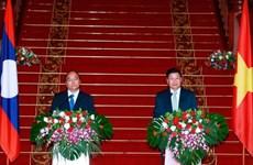越南与老挝发表联合声明  强调维护东海和平稳定与安全的重要性