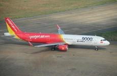 越捷航空公司开通河内至广平省洞海市航线