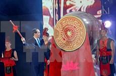 国家主席陈大光出席2017年炉门海洋旅游节开幕式