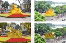 在还剑湖周边设乌龟铜像的提案受到市民的关注