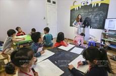 儿童自由创作的捣蛋画室