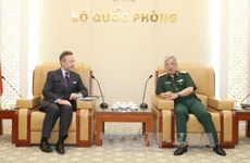 国防部副部长阮志咏会见捷克驻越大使