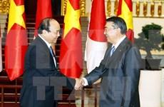 越南政府总理阮春福会见日本国会众议院议长
