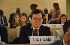 越南常驻联合国日内瓦办事处代表团为议联亚太地区专题会议做准备