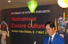越南美食文化亮相孟加拉国