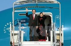 陈大光主席访华进一步深化越中两党、两国的合作