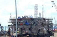 白兔油田ThTC-03石油钻井平台喜获油流