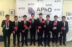 2017亚洲物理学奥林匹克竞赛:越南7名学生获奖
