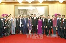 越南国家主席陈大光会见中国友好人士代表