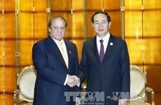 国家主席陈大光会见巴基斯坦和日本领导