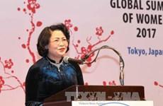 越南国家副主席邓氏玉盛出席全球妇女峰会闭幕式