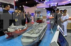 越南参加第11届新加坡亚洲国际海事防务展