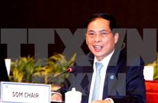 2017年APEC高官会主席:积极主动 共创APEC的未来