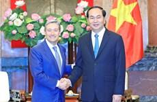 越南国家主席陈大光会见加拿大和印尼客人