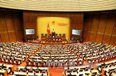 越南第十四届国会第三次会议隆重开幕