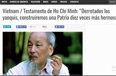 阿根廷媒体赞美胡志明主席领导能力