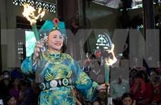林宫圣母祭祀信仰节在安沛省精彩举行