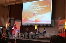 旅新越南知识分子促进国内数字技术的发展