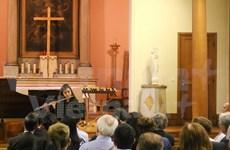 越南同行基金会在法国举行音乐会助学捐款活动