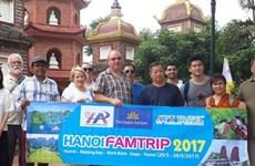 澳大利亚17家旅行社和新闻媒体赴越考察旅游线路