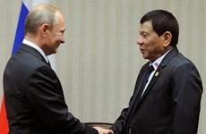 菲律宾总统访问俄罗斯 进一步加强双边关系